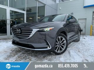 Used 2019 Mazda CX-9 Signature NAPPA LEATHER SUNROOF NAV HUD for sale in Edmonton, AB