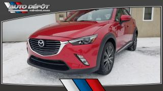 Used 2016 Mazda CX-3 GT, AWD. NAVIGATION, TOIT, DÉMARREUR for sale in Mirabel, QC