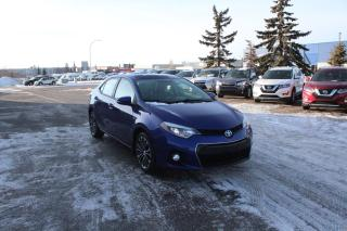 Used 2015 Toyota Corolla S for sale in Calgary, AB