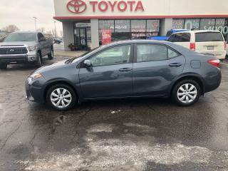Used 2016 Toyota Corolla LE HEATED SEATS REVERSE PARKING CAMERA for sale in Cambridge, ON