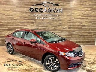 Used 2015 Honda Civic Ex AUTOMATIQUE 88166KM TOIT OUVRANT for sale in Ste-Brigitte-de-Laval, QC