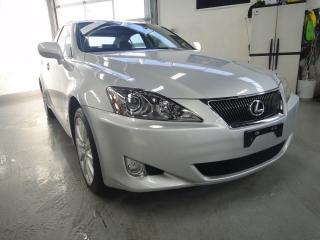 Used 2008 Lexus IS 250 LOW KM,ONE OWNER,ALL SERVICE RECORDS for sale in North York, ON