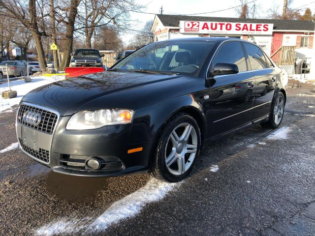 2008 Audi A4 S-Line Pckge/Automatic/Leather/Roof/AS IS Special