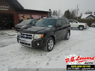Used 2012 Ford Escape Limitée for sale in St-Prosper, QC