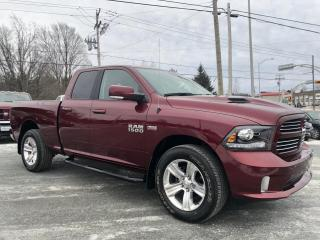 Used 2017 RAM 1500 SPORT '' GPS CAMERA ''  QUAD for sale in St-Anselme, QC