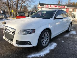 Used 2010 Audi A4 1Owner/No Accident/Quattro/Automatic/AS IS Special for sale in Scarborough, ON
