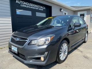 Used 2015 Subaru Impreza PREMIUM PLUS for sale in Kingston, ON