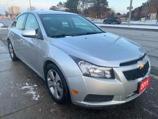 Used 2011 Chevrolet Cruze LEATHER-BLUETOOTH-AUX-USB-HEATED POWER -ALLOYS for sale in Scarborough, ON