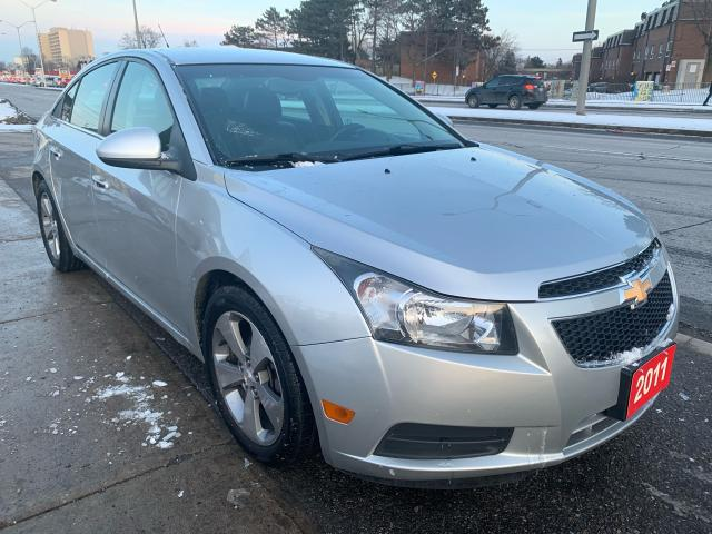 2011 Chevrolet Cruze LEATHER-BLUETOOTH-AUX-USB-HEATED POWER -ALLOYS