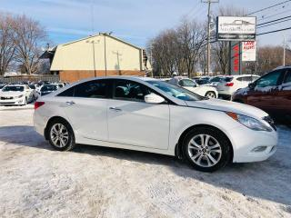 Used 2011 Hyundai Sonata Limited-Navi-Cuir-Toit-Mags-Siéges Chauffant for sale in Laval, QC