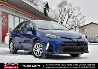 Used 2017 Toyota Corolla SPORT BAS KM! for sale in Pointe-Claire, QC