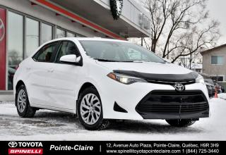 Used 2018 Toyota Corolla LE GROUPE ÉLECTRIQUE for sale in Pointe-Claire, QC