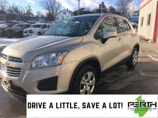 Used 2016 Chevrolet Trax LS | Bluetooth | Manual | Low KM | for sale in Mitchell, ON
