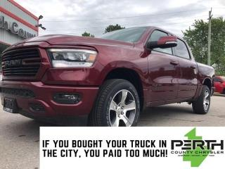 New 2020 RAM 1500 Rebel | Level 2 | Leather | Navigation | Panoramic for sale in Mitchell, ON