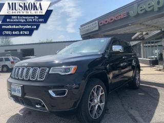 Used 2020 Jeep Grand Cherokee Overland  - Leather Seats for sale in Bracebridge, ON