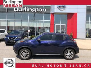 Used 2017 Nissan Juke SL, ACCIDENT FREE, 1 OWNER, EXTENDED WARRANTY ! for sale in Burlington, ON