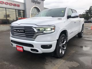 New 2020 RAM 1500 Longhorn Crew 4x4 EcoDiesel for sale in Hamilton, ON