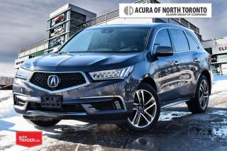 Used 2017 Acura MDX Tech No Accident| DVD|Remote Start for sale in Thornhill, ON