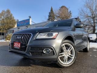 Used 2014 Audi Q5 quattro 4dr 2.0L Progressiv |S-LINE|NAVIGATION|PANO ROOF for sale in Brampton, ON
