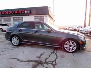 Used 2011 Mercedes-Benz C-Class C250 4-MATIC BLUETOOTH SUNROOF CERTIFIED for sale in Milton, ON