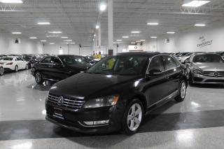 Used 2013 Volkswagen Passat TDI I NO ACCIDENTS I LEATHER I SUNROOF I HEATED SEATS I BT for sale in Mississauga, ON