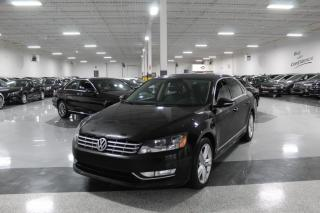 Used 2012 Volkswagen Passat TDI HIGHLINE I NO ACCIDENTS I NAVIGATION I LEATHER I SUNROOF for sale in Mississauga, ON