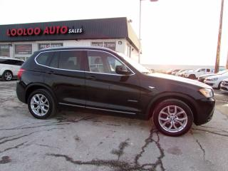 Used 2013 BMW X3 xDrive28i Panoramic Sunroof BLUETOOTH CERTIFIED for sale in Milton, ON