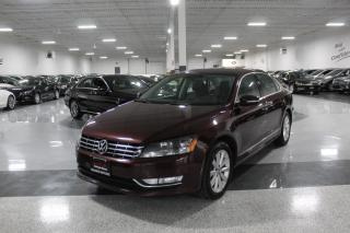 Used 2014 Volkswagen Passat TDI HIGHLINE I NO ACCIDENTS I NAVIGATION I LEATHER I REARCAM for sale in Mississauga, ON