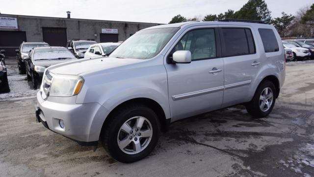 2010 Honda Pilot EX-L 4WD 8 PSSNGRS CERTIFIED 2YR WARRANTY *FREE ACCIDENT* CAMERA SUNROOF HEATED