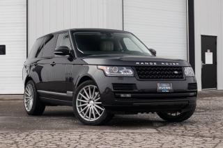 Used 2013 Land Rover Range Rover HSE FULL SIZE - 22 VOSSEN WHEELS - CLEAN for sale in St. Catharines, ON