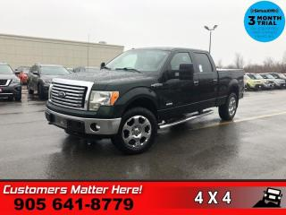 Used 2012 Ford F-150 XLT  4X4 CREWCAB ALLOYS TOW POWER-GROUP for sale in St. Catharines, ON