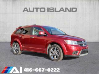 Used 2011 Dodge Journey AWD  R/T LEATHER SUNROOF 7 PASSENGER for sale in North York, ON