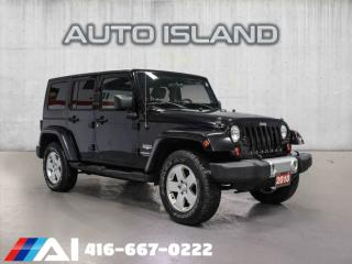 Used 2010 Jeep Wrangler UNLIMITED 4WD 4DR SAHARA for sale in North York, ON