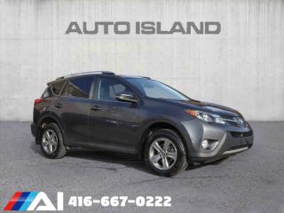 Used 2015 Toyota RAV4 XLE PKG BACK UP CAMERA SUNROOF  BLUETOOTH for sale in North York, ON