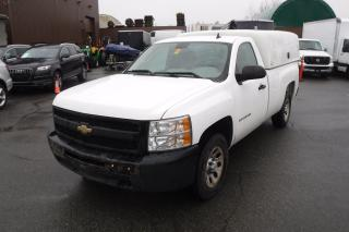 Used 2010 Chevrolet Silverado 1500 Work Truck 2WD With Workshop Canopy And Shelving for sale in Burnaby, BC
