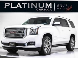 Used 2016 GMC Yukon DENALI, 7-PASS, AWD, SUNROOF, CAM, NAV, ENT SYSTEM for sale in Toronto, ON