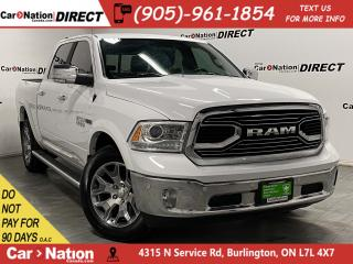 Used 2018 RAM 1500 Limited| 4X4| LEATHER| SUNROOF| NAVI| LOCAL TRADE| for sale in Burlington, ON
