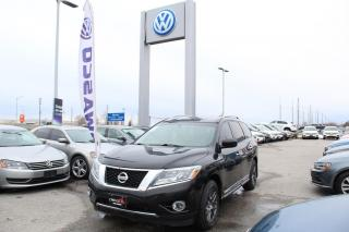 Used 2014 Nissan Pathfinder 4WD 4DR SL for sale in Whitby, ON
