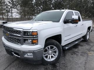 Used 2015 CHEV SILVERADO 1500 LTZ DBL CAB  4X4 for sale in Cayuga, ON
