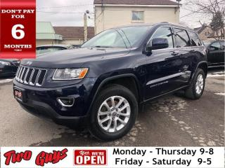 Used 2015 Jeep Grand Cherokee Laredo | Panoroof | Navigation | 3.6L for sale in St Catharines, ON