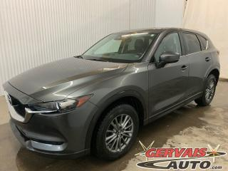 Used 2017 Mazda CX-5 GS Cuir/Tissus MAGS Caméra Volant chauffant for sale in Trois-Rivières, QC
