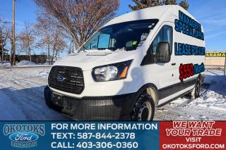 Used 2018 Ford Transit 250 CRUISE CONTROL, LOAD AREA PROTECTION PACKAGE, REVERSE CAMERA SYSTEM, AIR CONDITIONING for sale in Okotoks, AB