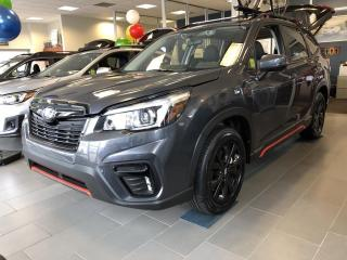 New 2020 Subaru Forester Sport DON'T PAY FOR UP TO 120 DAYS ON THE COMPACT SUV FOR THE TRIALS AND THE TRAILS! for sale in Charlottetown, PE