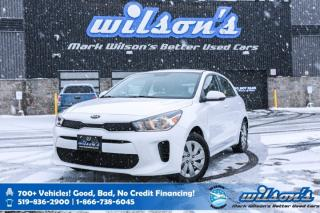 Used 2019 Kia Rio 5-Door LX+ Hatchback, Heated Steering + Seats, Rear Camera, Bluetooth and more! for sale in Guelph, ON