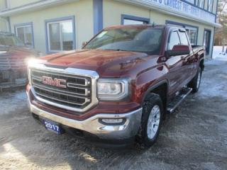 Used 2017 GMC Sierra 1500 LIKE NEW SLE EDITION 6 PASSENGER 5.3L - VORTEC.. 4X4.. QUAD-CAB.. SHORTY.. HEATED SEATS.. BACK-UP CAMERA.. BLUETOOTH SYSTEM.. for sale in Bradford, ON