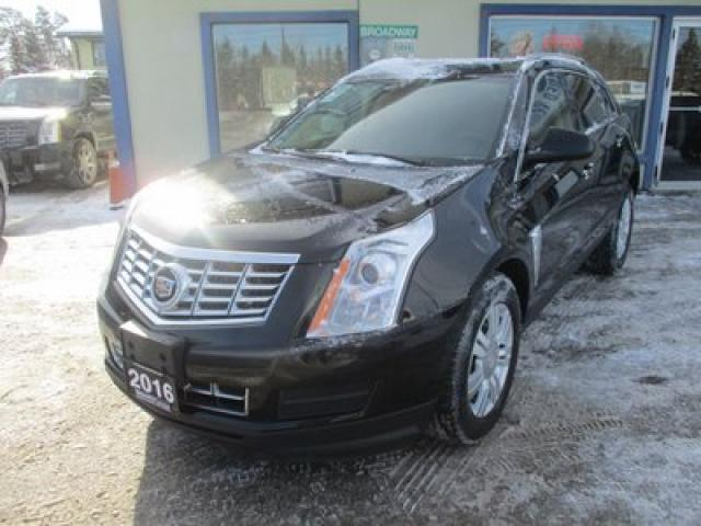 2016 Cadillac SRX ALL-WHEEL DRIVE LUXURY EDITION 5 PASSENGER 3.6L - V6.. LEATHER.. HEATED SEATS.. PANORAMIC SUNROOF.. BACK-UP CAMERA.. ECO-MODE PACKAGE..