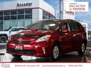 Used 2012 Toyota Prius V 1 OWNER - NAVI|LEATHER|SUNROOF|BACKUP CAMERA for sale in Ancaster, ON