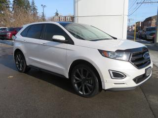 Used 2017 Ford Edge 4dr Sport AWD - One Owner/Pwr-Htd-Cld Front Seats/Pwr-Htd Rear Seat/Htd Str Wheel/Rem Start/Pano Roof/Rev-Front Camera/Park Assist/Nav/Bluetooth for sale in Hagersville, ON