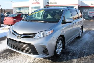 Used 2018 Toyota Sienna LE MAGS BLUETOOTH SIEGES CHAUFFANTS CAM DE RE for sale in St-Basile-le-Grand, QC