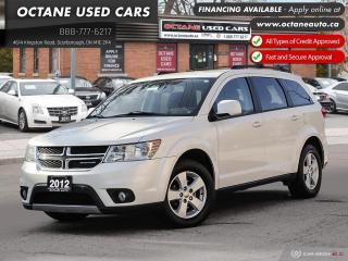 Used 2012 Dodge Journey SXT & Crew * SXT Accident-Free! Certified * for sale in Scarborough, ON